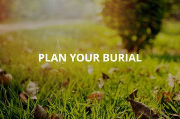 plan your burial